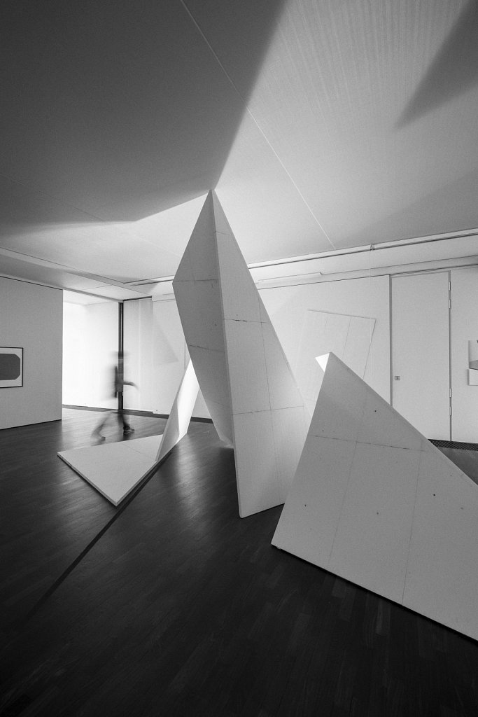 raumskizze (galerie thomas modern, muenchen), florian lechner, 2014