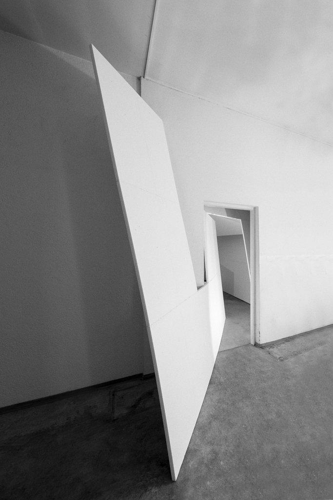 raumskizze (under(de)construction, stiftung federkiel); florian lechner, 2015