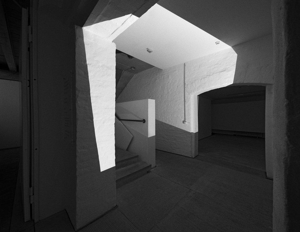 spaces . raumskizze (künstlerhaus freising) . florian lechner . 2015